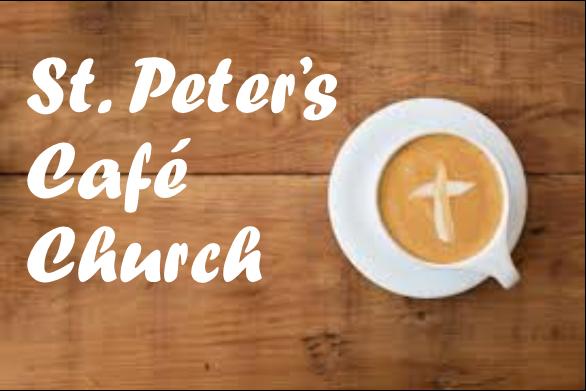 Cafe Church – Sunday 1st September
