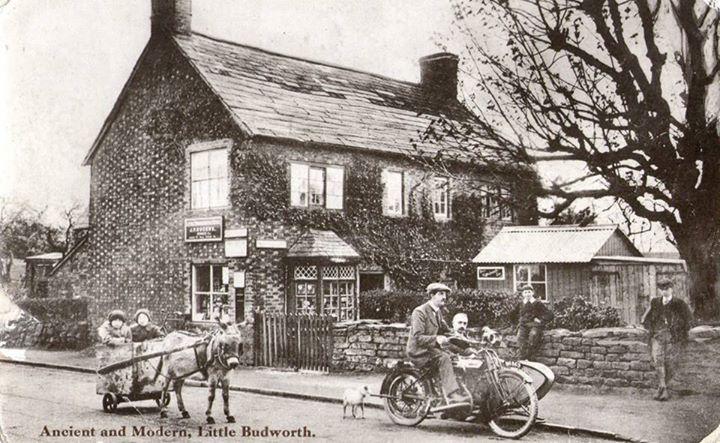 1920s little budworth Post Office