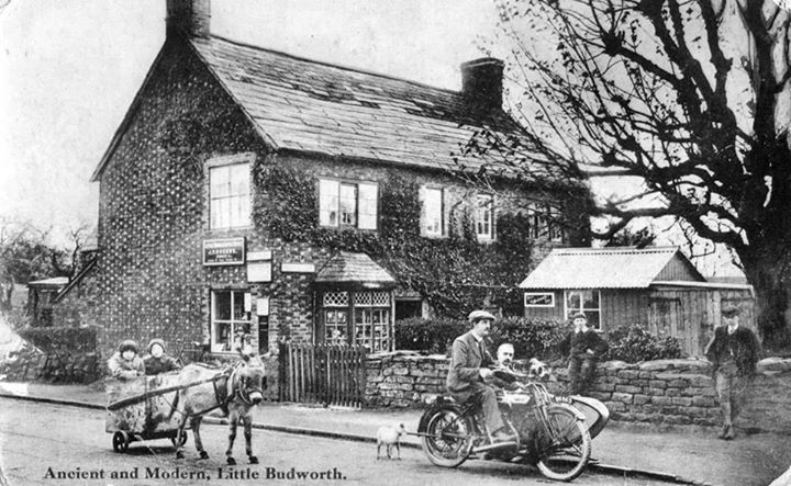 little budworth old post office 1920s