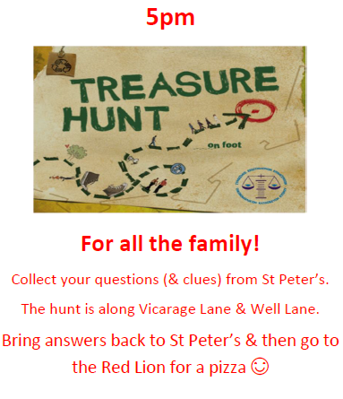 Family Treasure Hunt – Saturday 23rd June