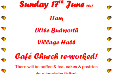 Cafe Church – Sunday 17th June