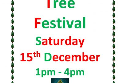 15th December 1pm to 4pm – Christmas Tree Festival