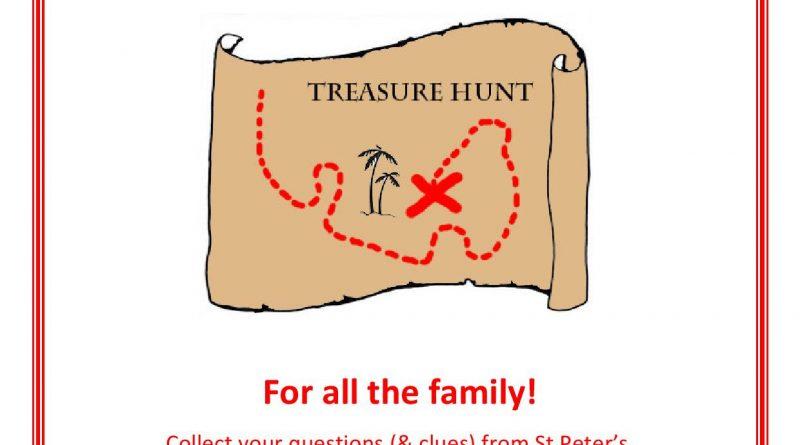 Family Treasure Hunt – 14th September 2019