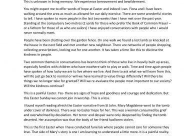 9-4-2020 Easter