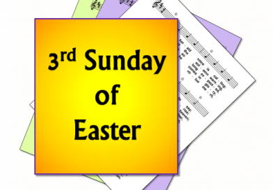 18th April – Third Sunday in Easter