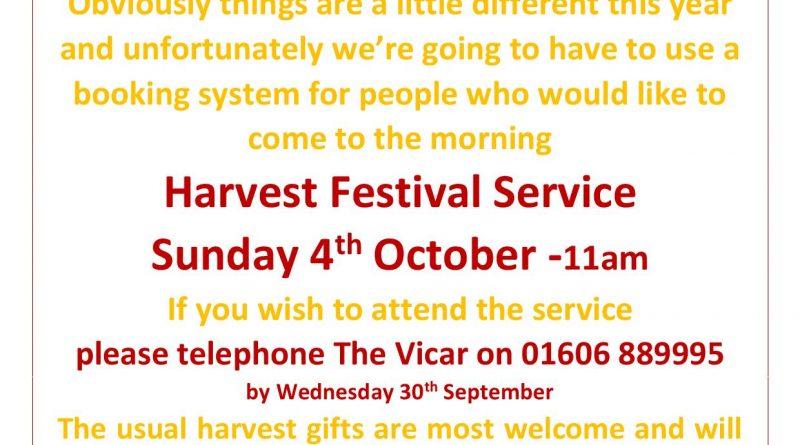 Harvest 2020