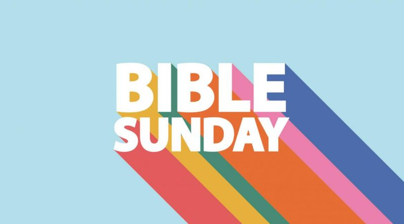Sunday 25th October – Bible Sunday