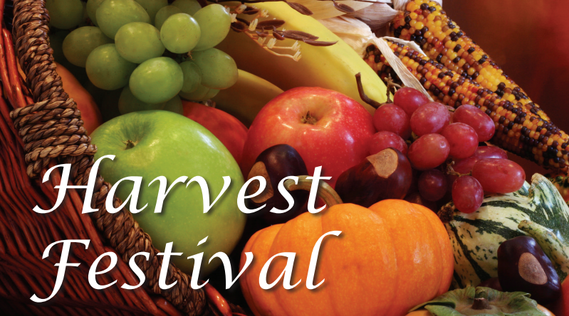 Sunday 4th October – Harvest Festival