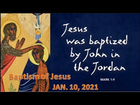 10th January – Baptism of Christ
