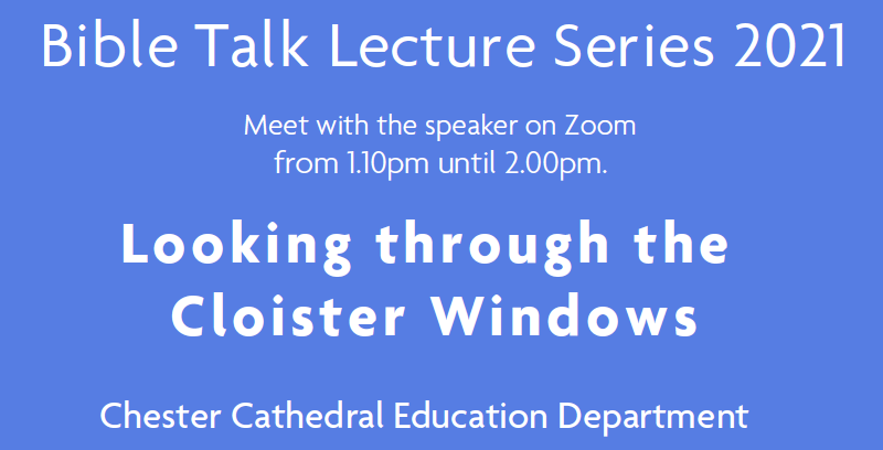 Bible Talk Lecture Series 2021